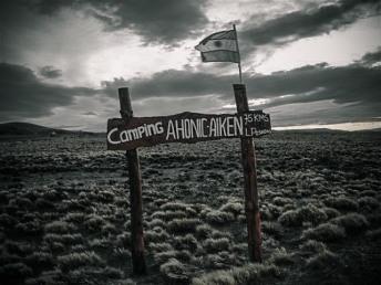 Bajo Caracoles, camping Argentina
