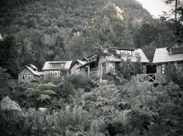 Caleta Gonzalo - cabanas, Chile