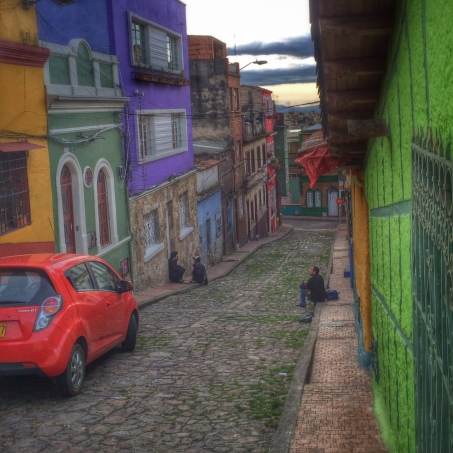 La Candelaria district of Bogota. A wonderful mixture of local and spanish heritage.