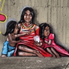 The Street Art here tells all kinds of amazing stories. I see different parts of the city with the addition of creative artistic murals.