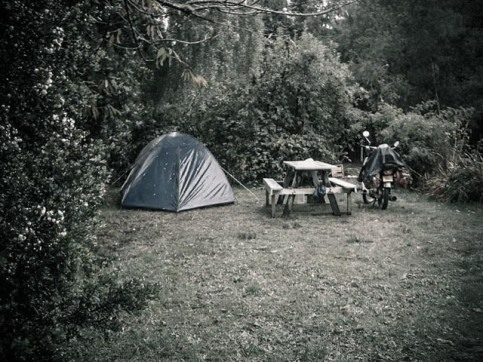Puerto Octay - camping, Chile
