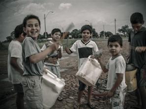 San Ignacio - A drum band in Paraguay