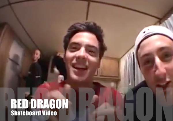 Sean Hayes Skate Part - Red Dragon Skateboard Party