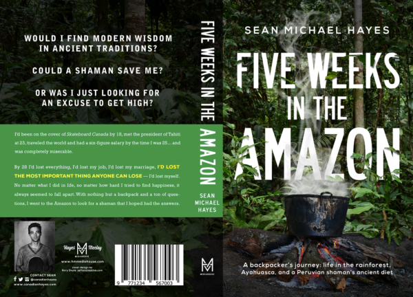 Five Weeks in the Amazon - Print Cover