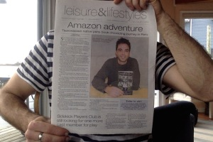 Newspaper Article...