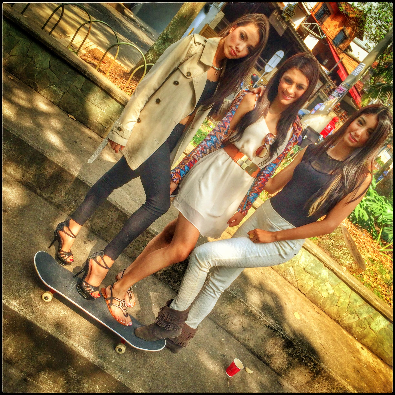 Cute colombian girls
