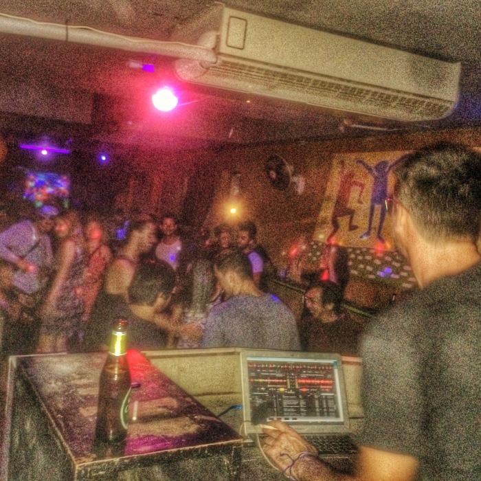 DJ Albert at the Boom Bar