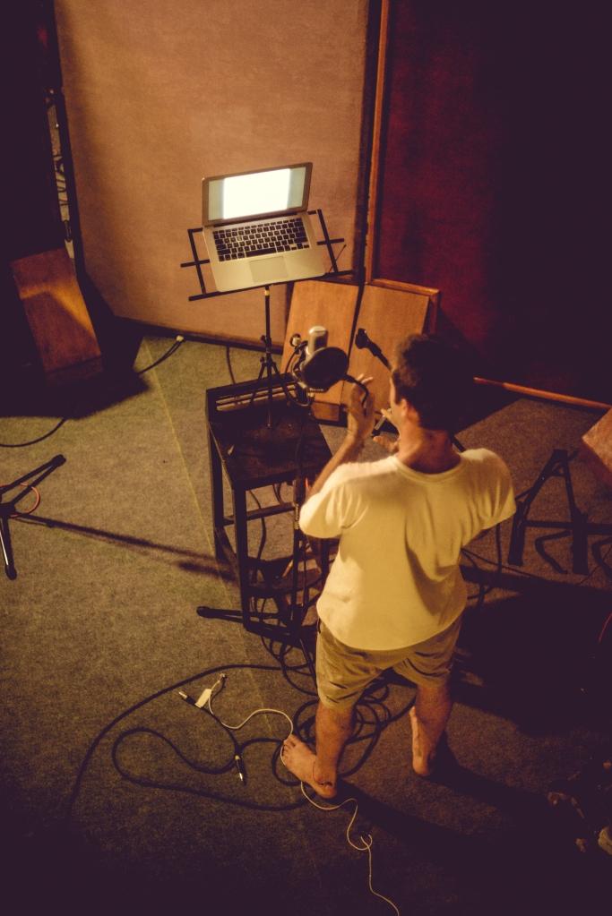 Recording shot #2