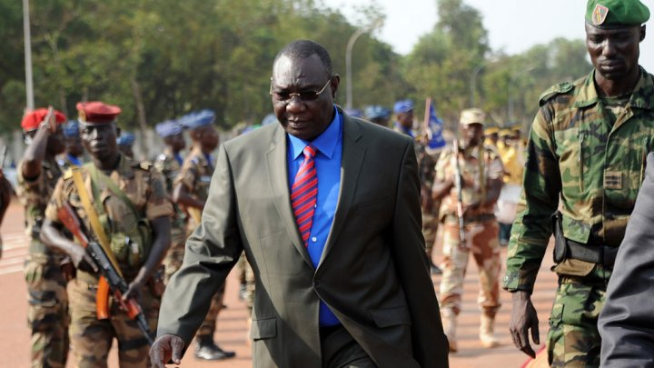 Michel Djotodia, who resigned as interim president of the Central African Republic, January 10, 2014 f24